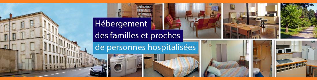 Hebergement des familles et proches de personnes hospitalisées